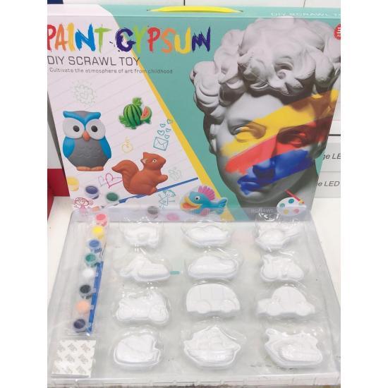 Купить Детский набор для окрашивания гипса Gypsum Paint, Развивающие игрушки