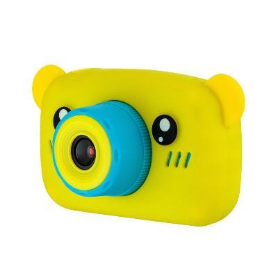 Детский фотоаппарат Мишки Kids fun camera, жёлтый фото