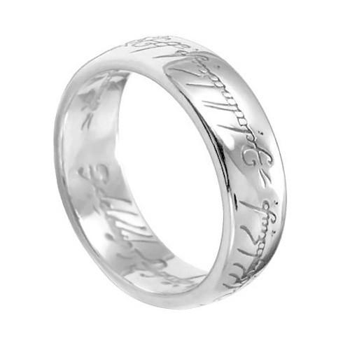 Кольцо Всевластия, цвет серебро, размер 10