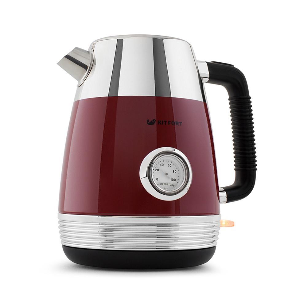 Чайник Kitfort КТ-633-2, красный