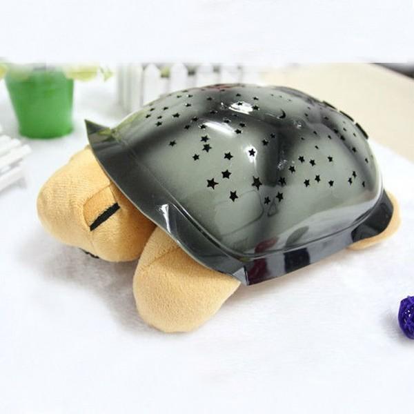 Ночник-проектор Музыкальная черепаха, бежевая от MELEON