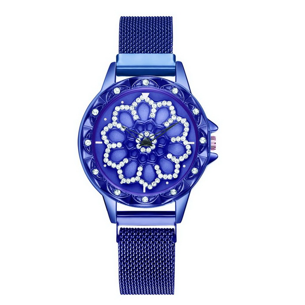 Наручные кварцевые женские часы Gedi, синий