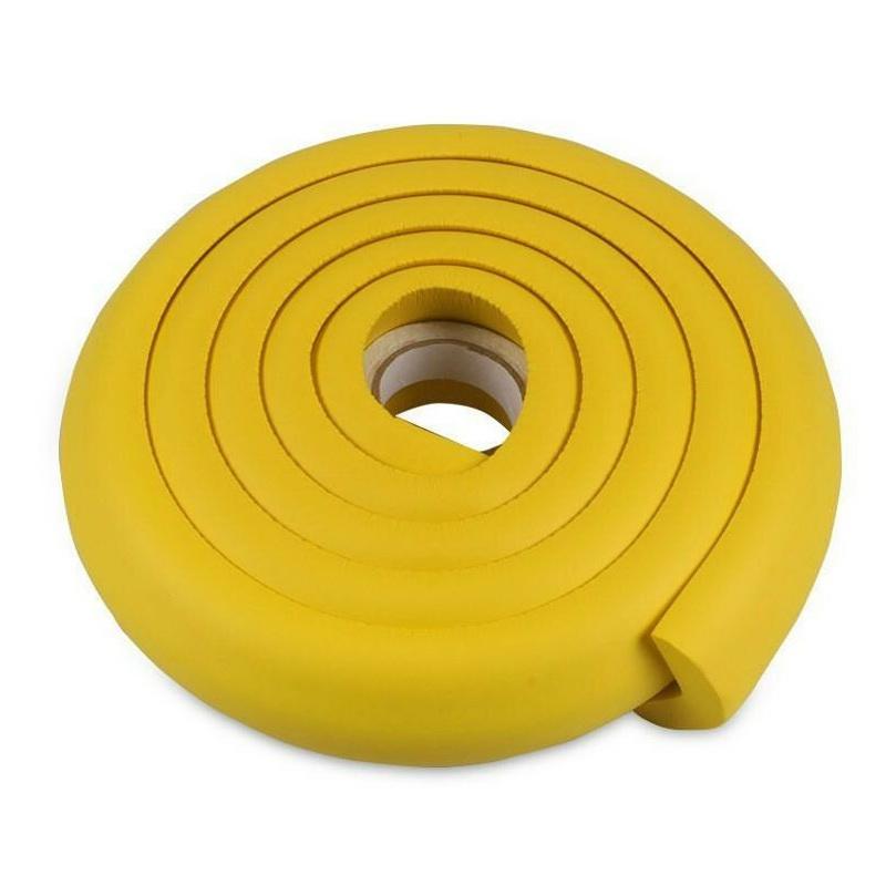 Мягкая защита на края мебели и углы Protective Stripe Beideli, 200х5х1 см, жёлтый