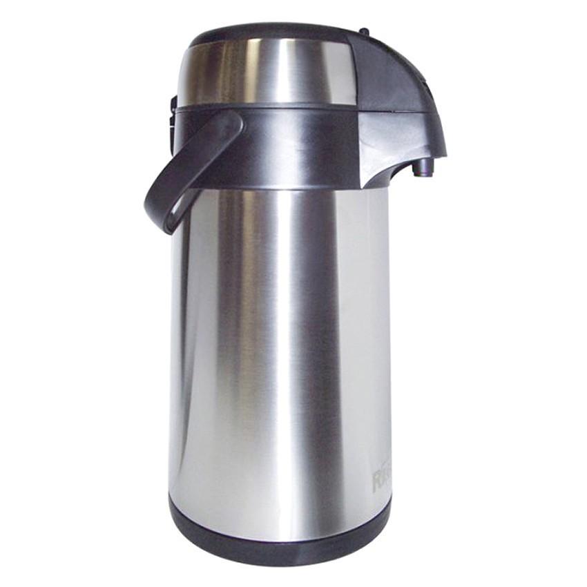 Термос GEIZER 3 л с помпойТермосы<br>Термос на 3 литра с пневмонасосом для большой семьи. Металлический корпус и колба, пластиковая ручка для удобной переноски. Защита от случайного нажатия кнопки подачи воды.<br>