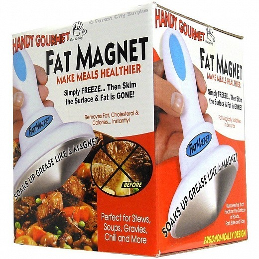 Купить Магнит для жира Fat Magnet - удаляет жир при готовке изображение 4