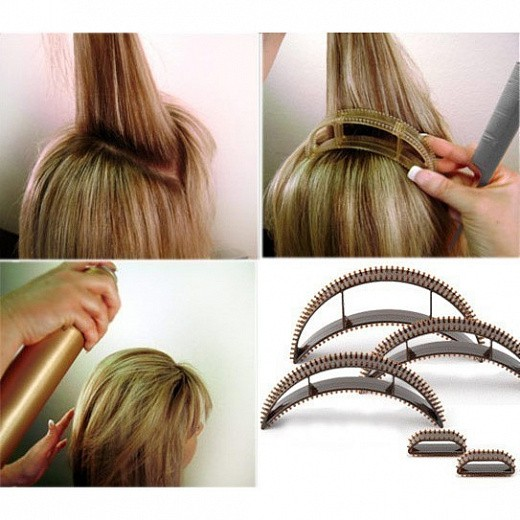Заколки для придания объёма причёске