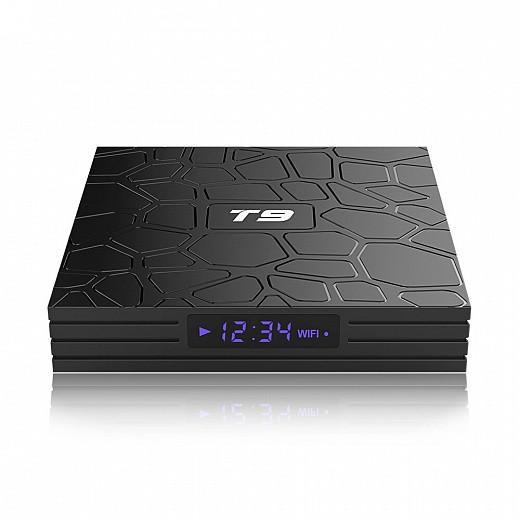 Андроид ТВ приставка T9 4/64GB with bluetooth RK3329